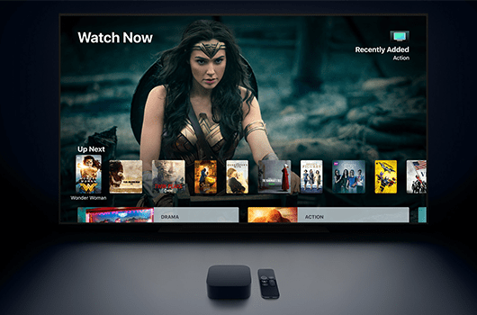 how to add channels to apple tv