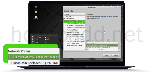 how-to-add-printer-in-linux-mint