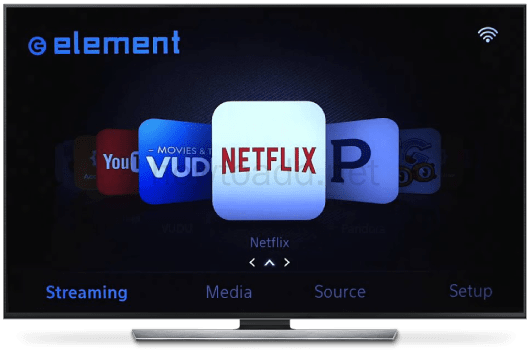 how to setup tv for netflix streaming